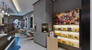 Godiva new Cafe in Hong Kong