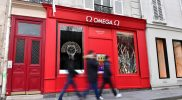 OMEGA pop-up in Paris selling only straps