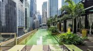 Sofitel City Centre Singapore – outdoor pool