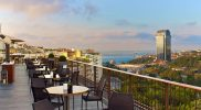 Spago Restaurant at St Regis Istanbul with Bosphorus Views