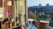 St Regis istanbul guest room Park View