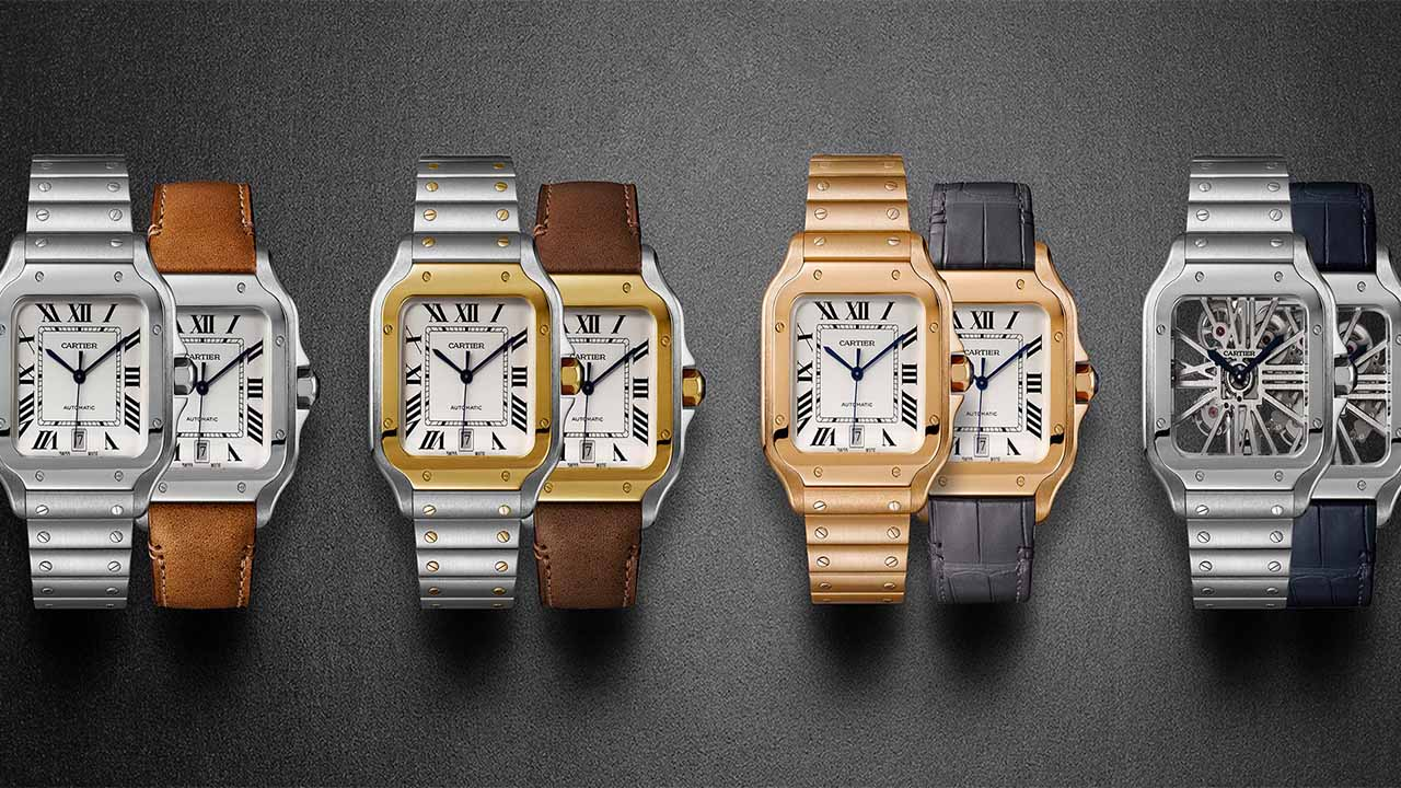 Santos de Cartier new watch collection