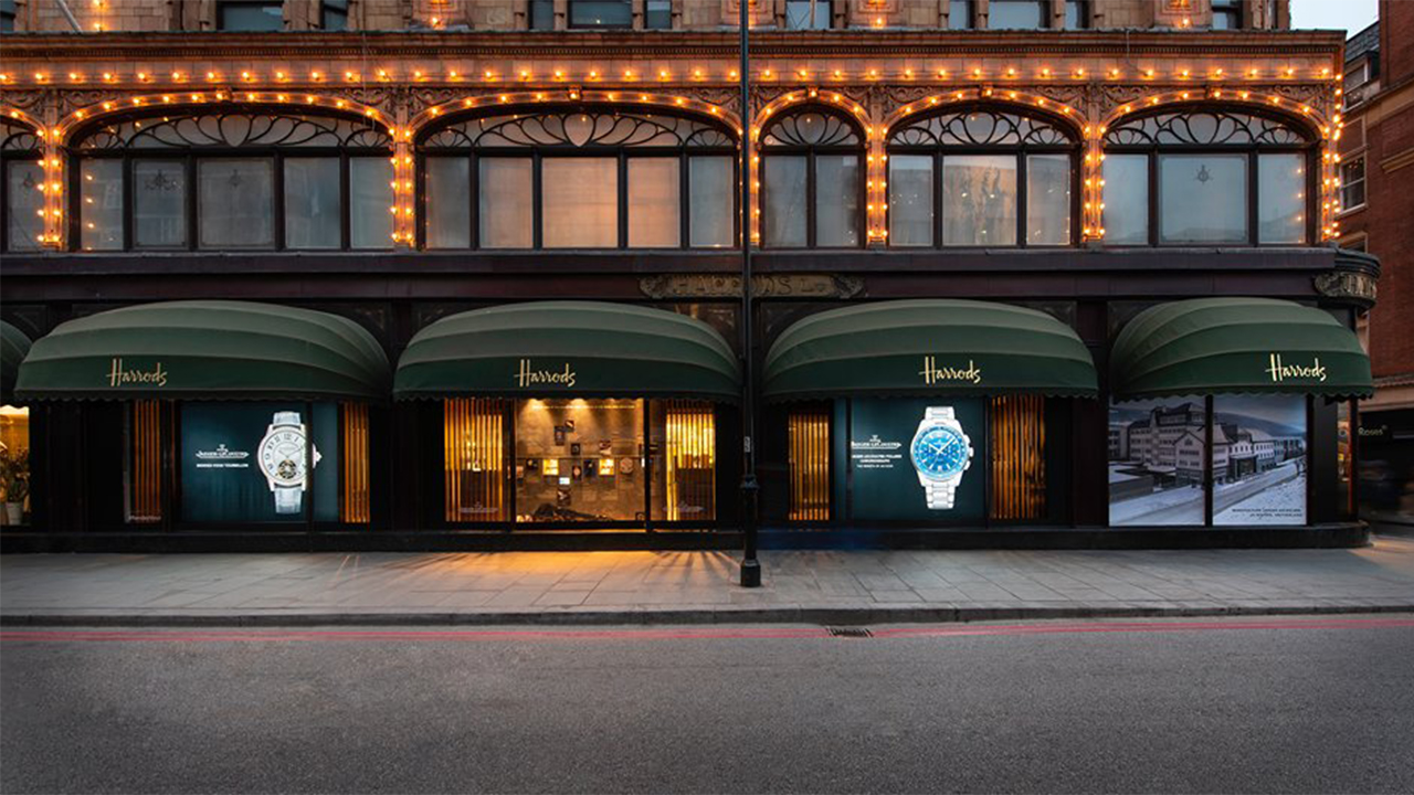 Jaeger Le-Coultre at Harrods
