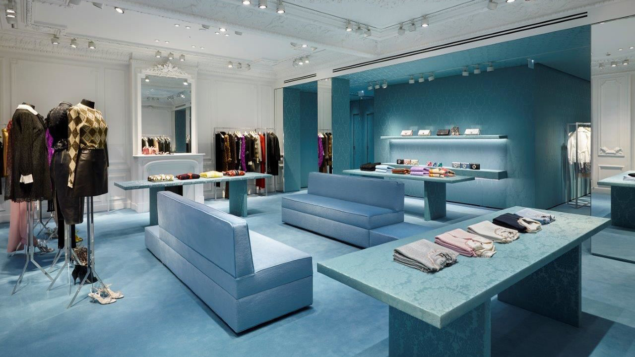 Miu Miu new store in Paris on Fbg St Honore