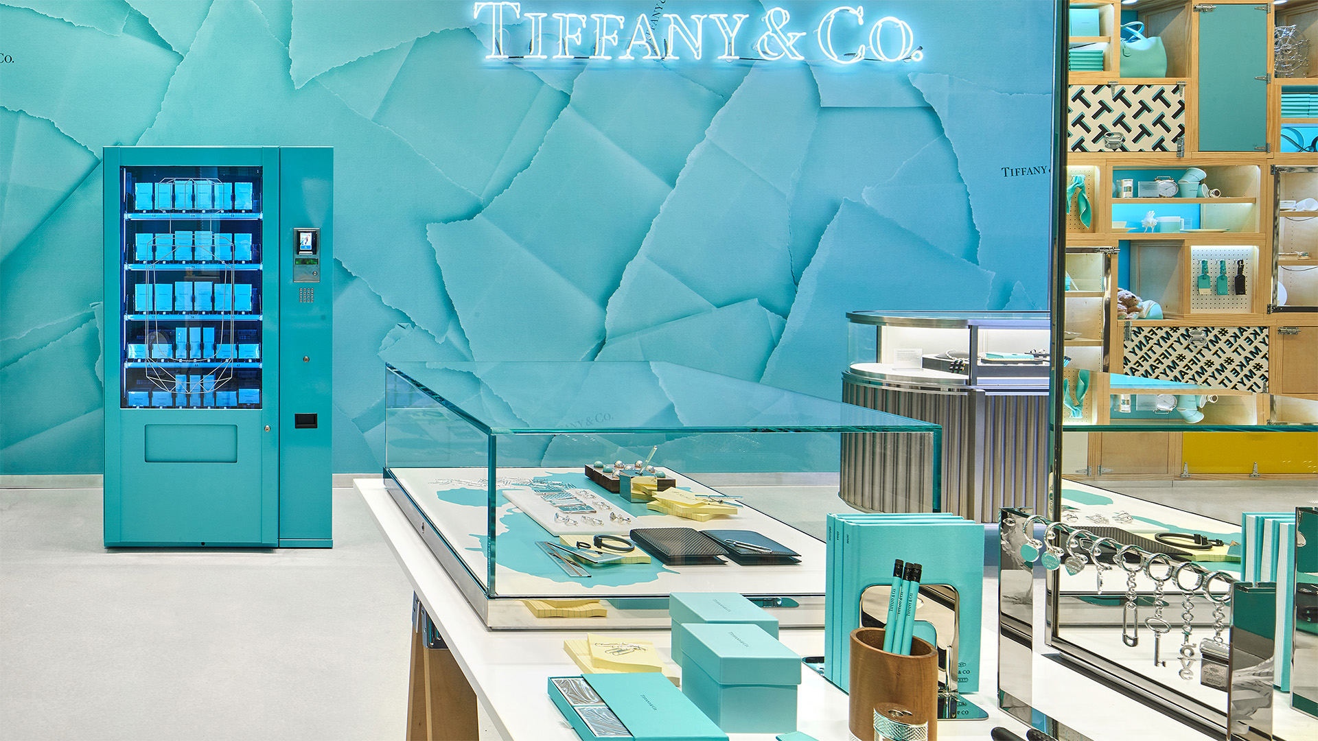 Tiffany & Co new store concept in London at Covent Garden