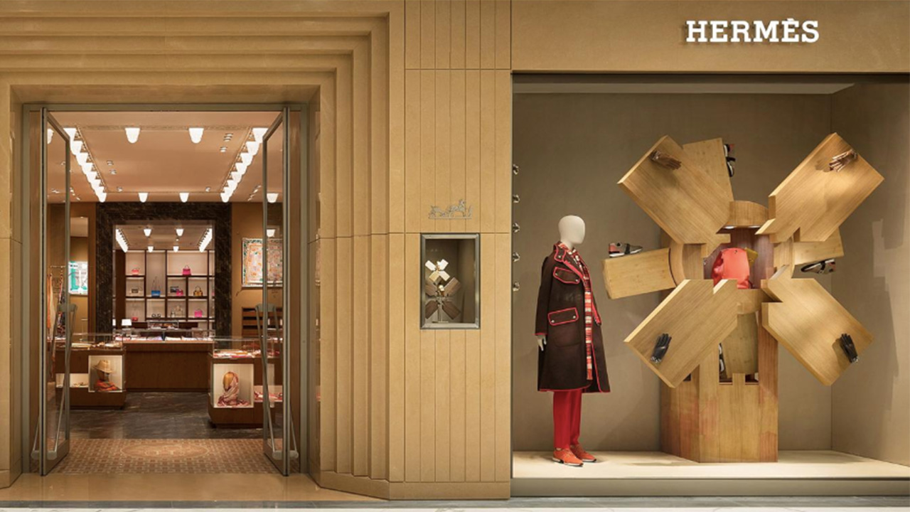 Hermes new store Xi'An China