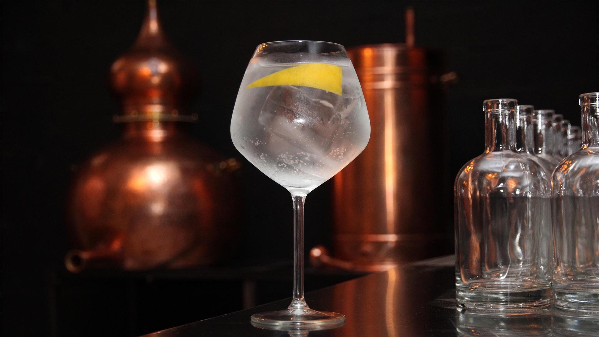 Mallorca gin distillery