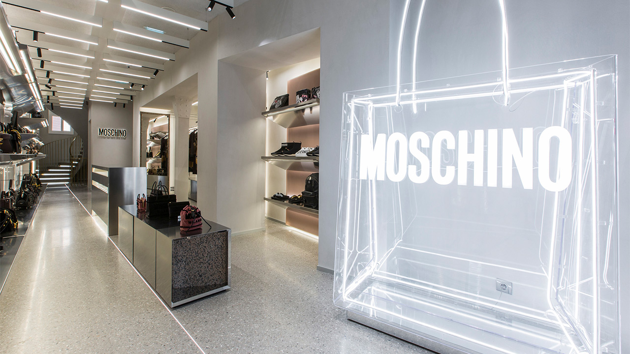 Moschino new store in Paris at Rue St Honore