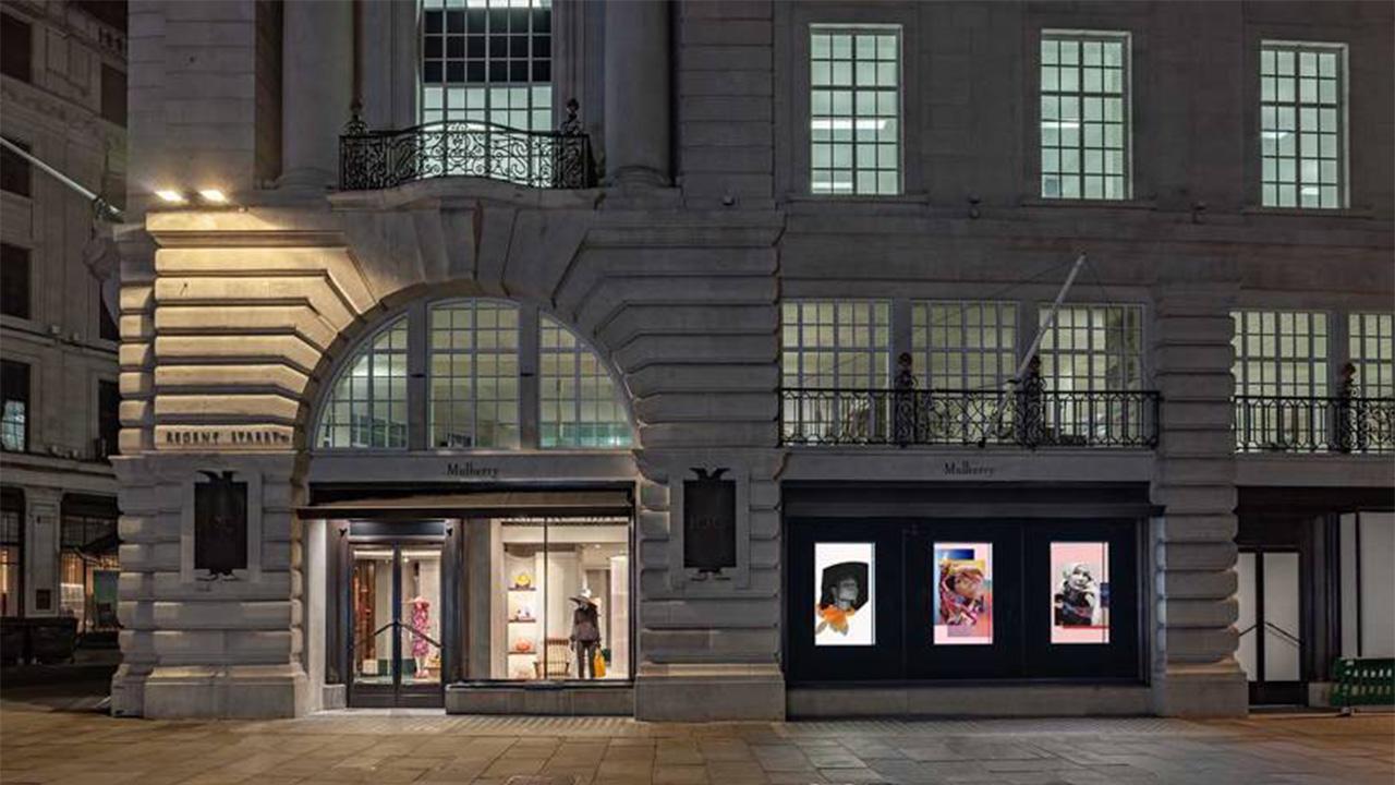 Mulberry new store Regent Street