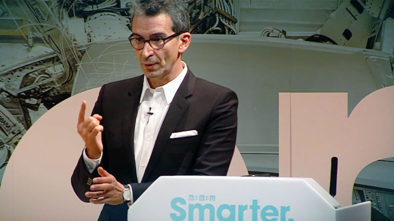 Federico Marchetti at the Wired Smarter conference in London