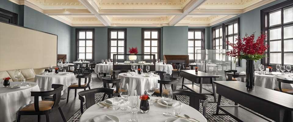 Bao Li Xuan Chinese fine dining restaurant at Bvlgari Hotel Shanghai