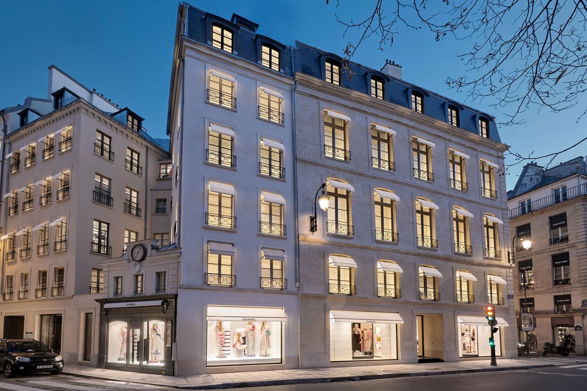 CHANEL new mega store Paris at Rue Cambon