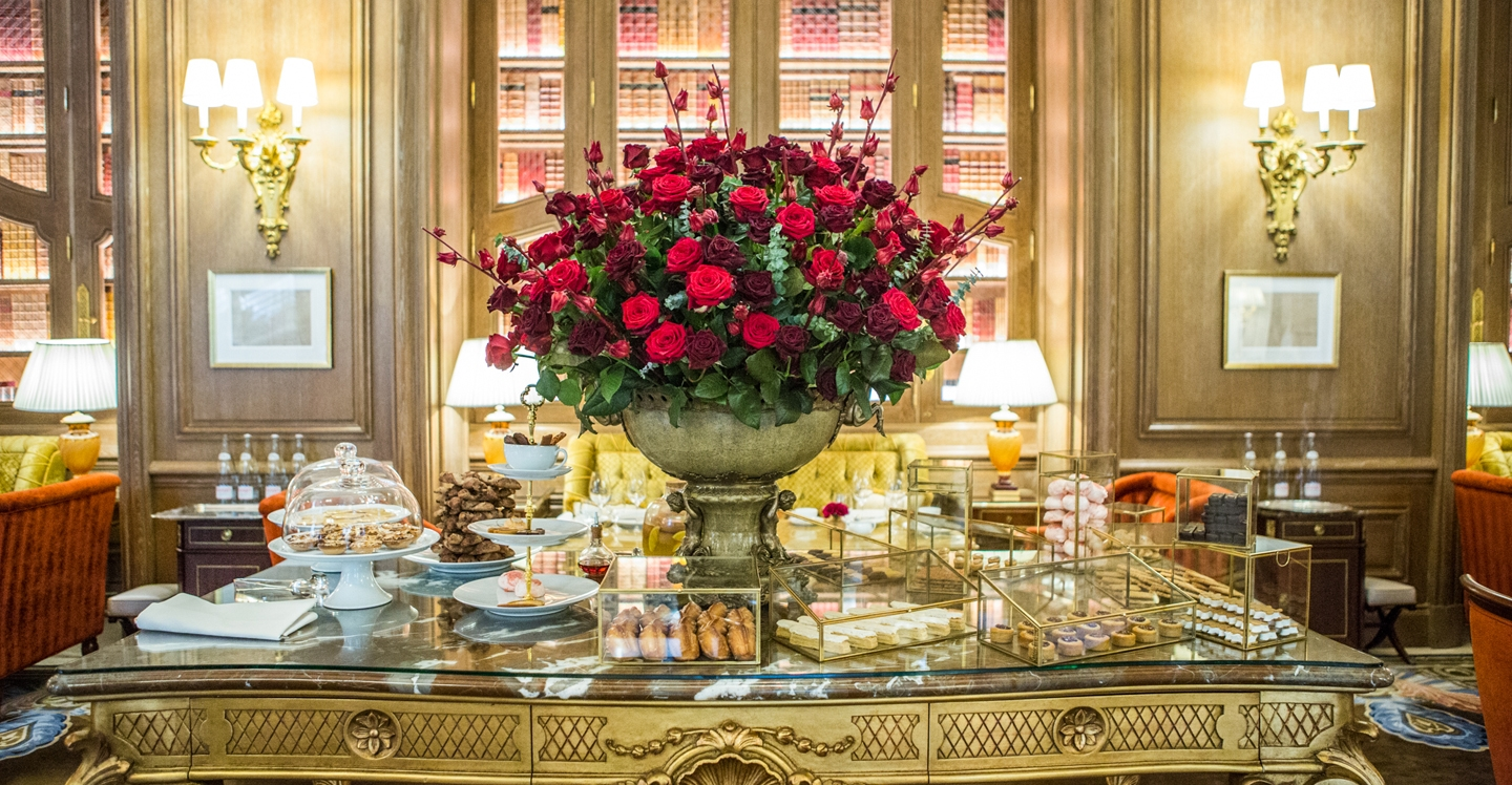 RITZ PARIS, Salon Proust - French Afternoon Tea