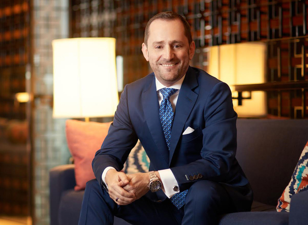 Simon Casson, President EMEA Four Seasons (