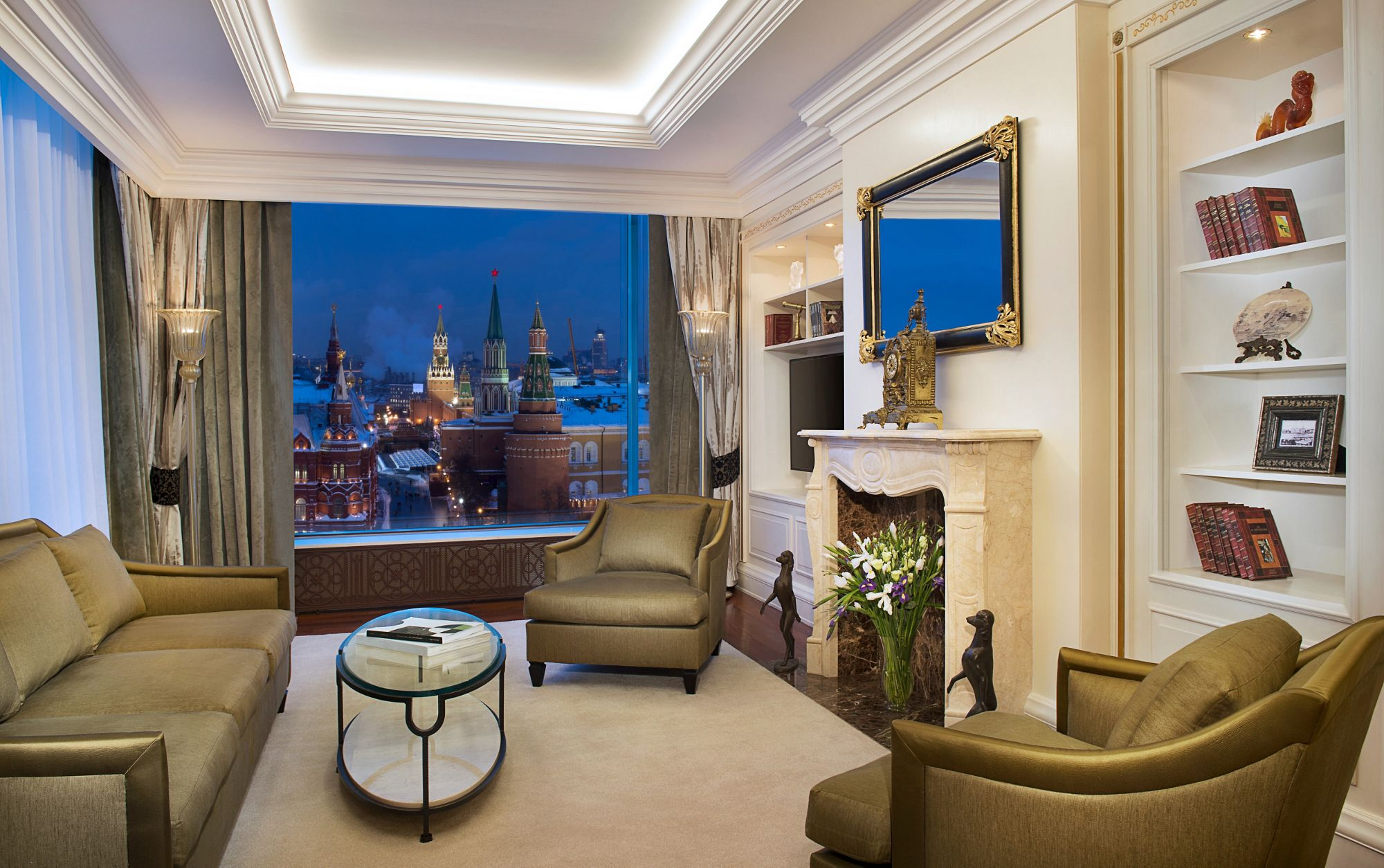 The Ritz-Carlton, Moscow - Suite with views of the Red Square