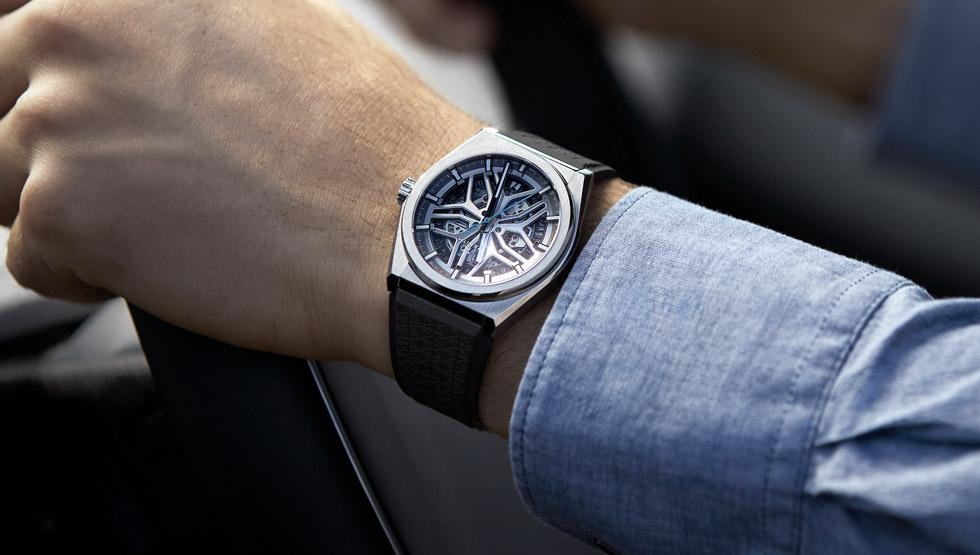 Zenith new watch in partnership with Range Rover (2018)