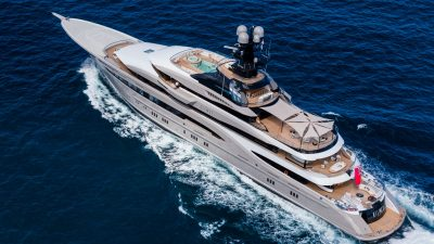 Four Seasons To Pop Down On KISMET Superyacht,