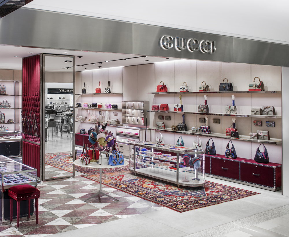 Gucci at Saks Fifth Avenue, New York