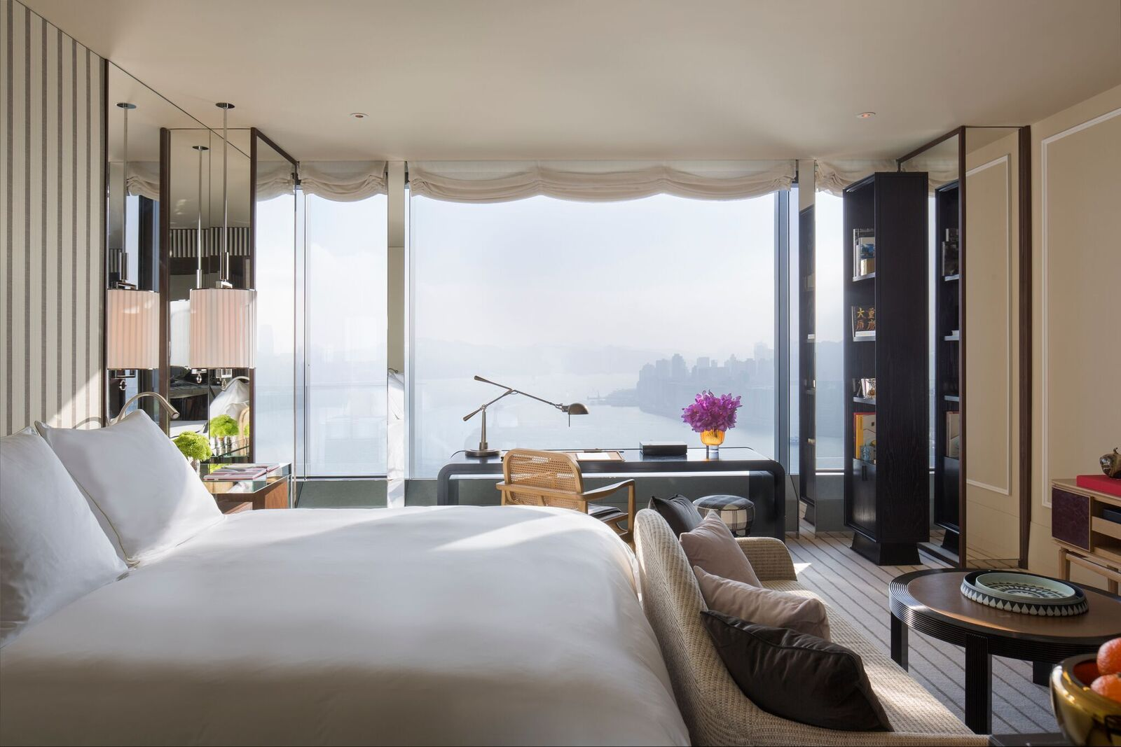 Rosewood Hong Kong - Studio Residence Bedroom