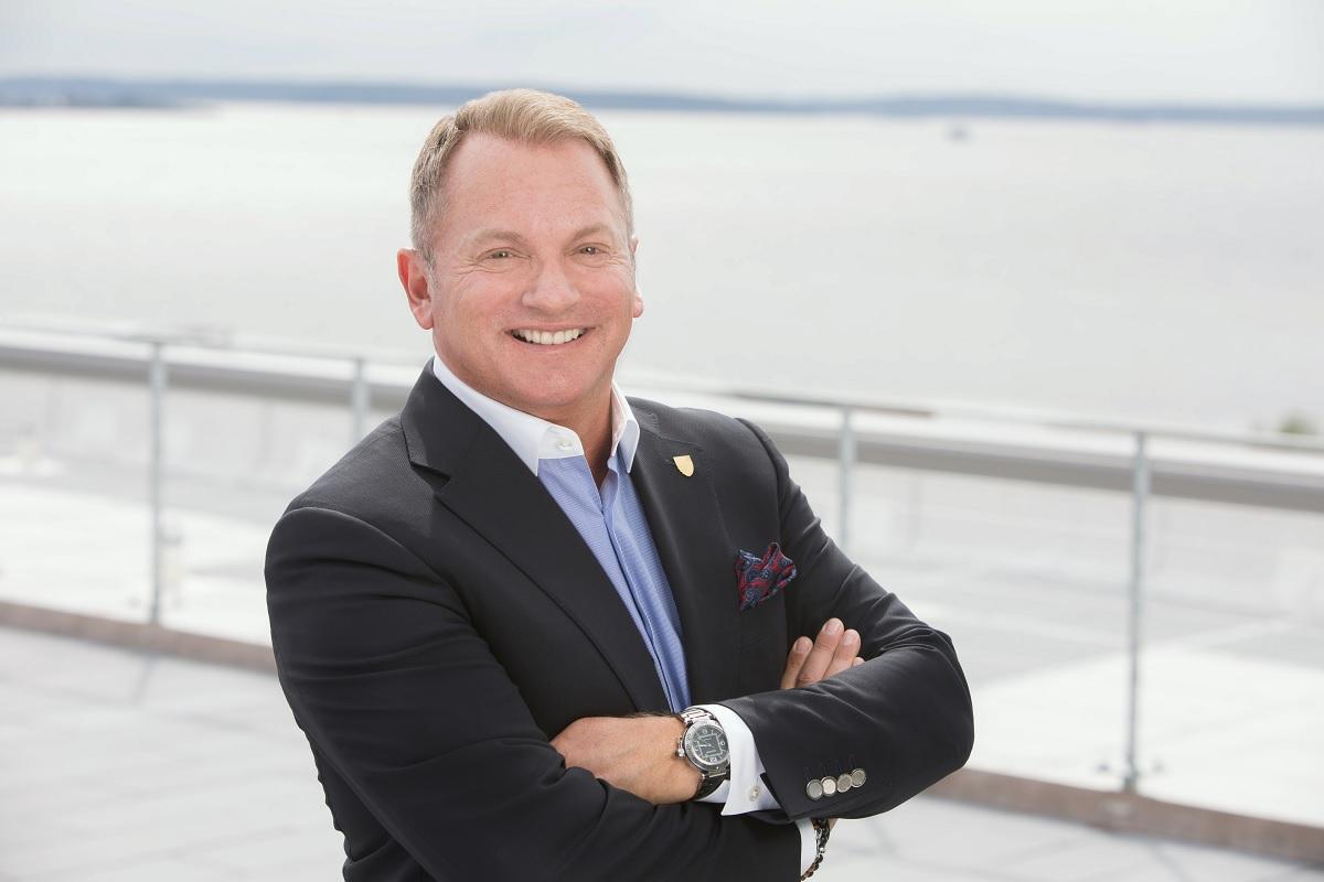 Seabourn's Chris Austin, SVP of Global Marketing & Sales