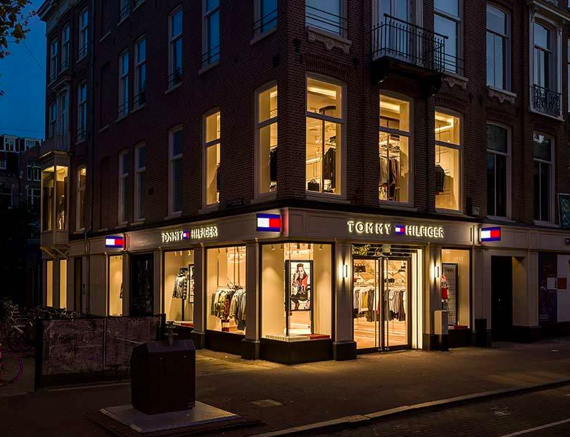 Tommy Hilfiger new 'store of the future' in Amsterdam
