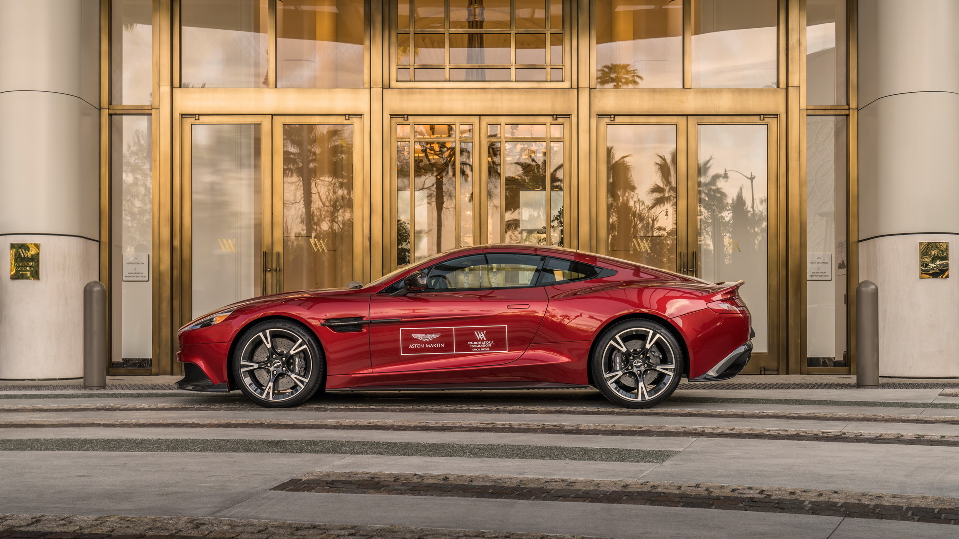 Walforf Astoria partnership with Aston Martin