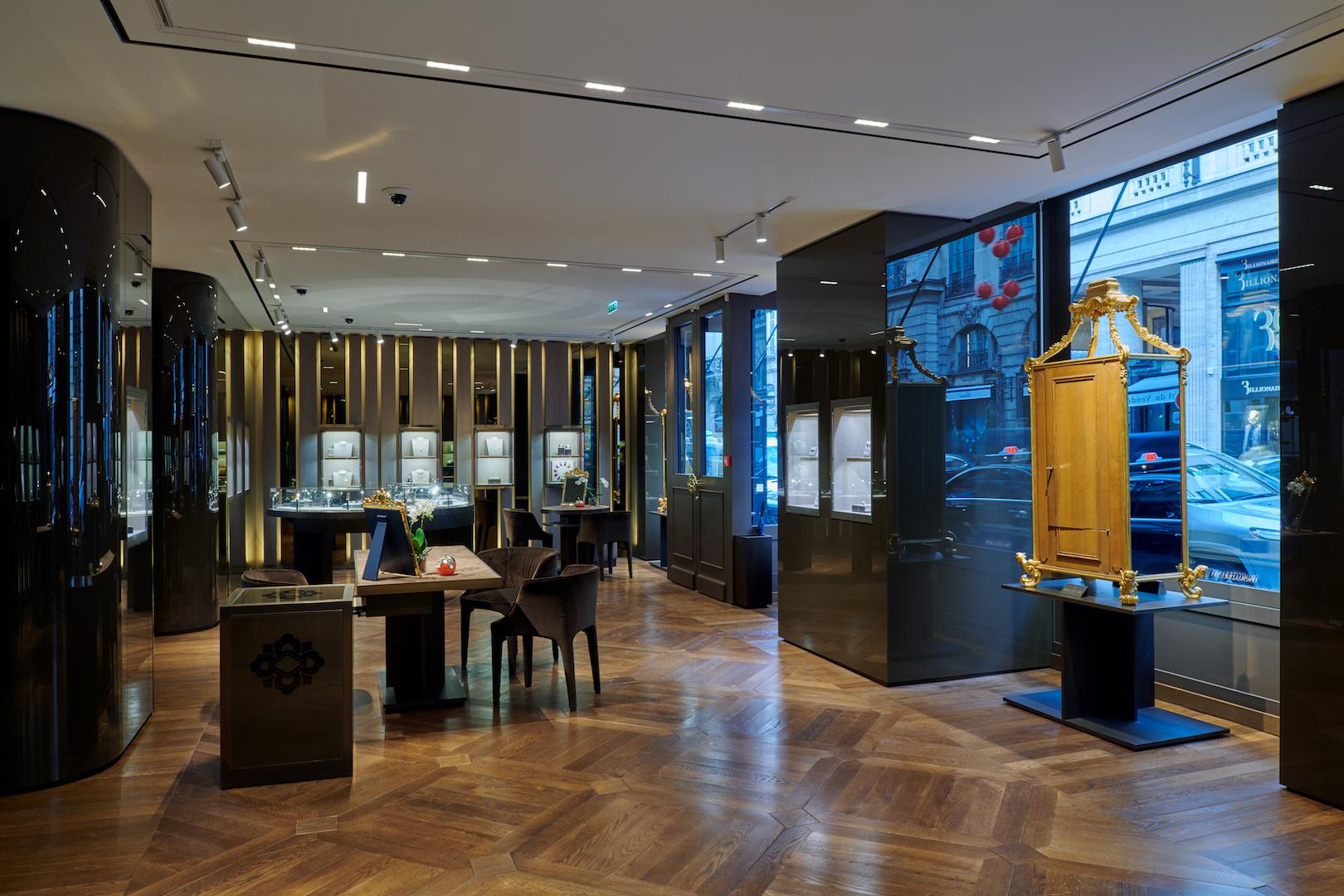 Buccellati new store Paris rue St Honore