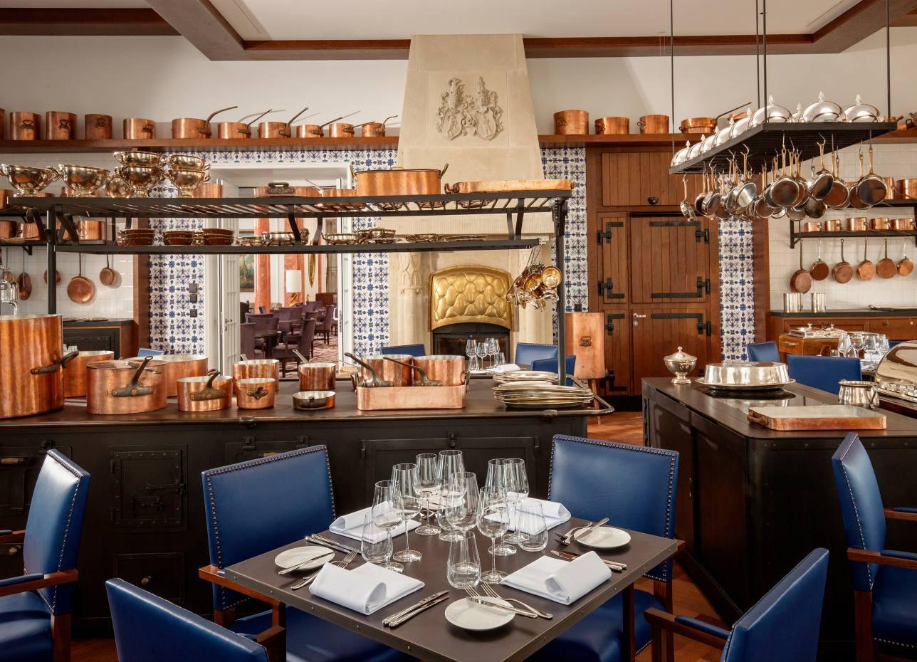 Burgenstock Resort - Ritzcoffier Restaurant 1 Michelin star