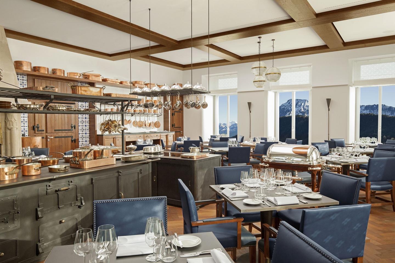 Burgenstock Resort Ritzcoffier Restaurant 1 Michelin star