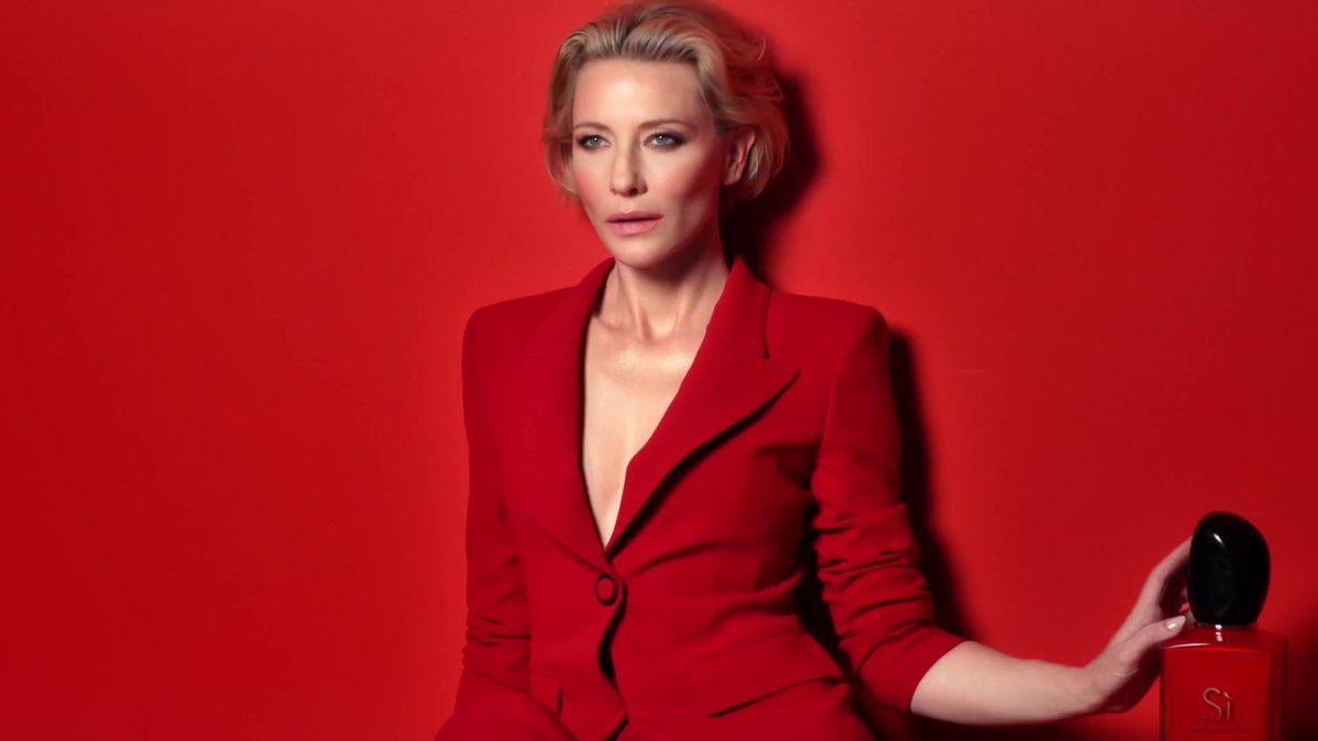 Cate Blanchett for Armani 'Sì Passione'