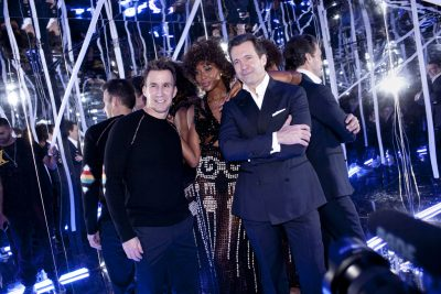 Equinox Hotels Launch Party with Naomi Campbell - Harvey Spevak & Chris Norton