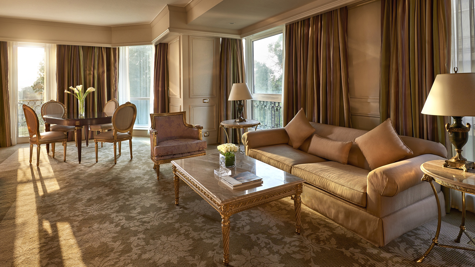 Four Seasons Cairo First Residence renovated suite