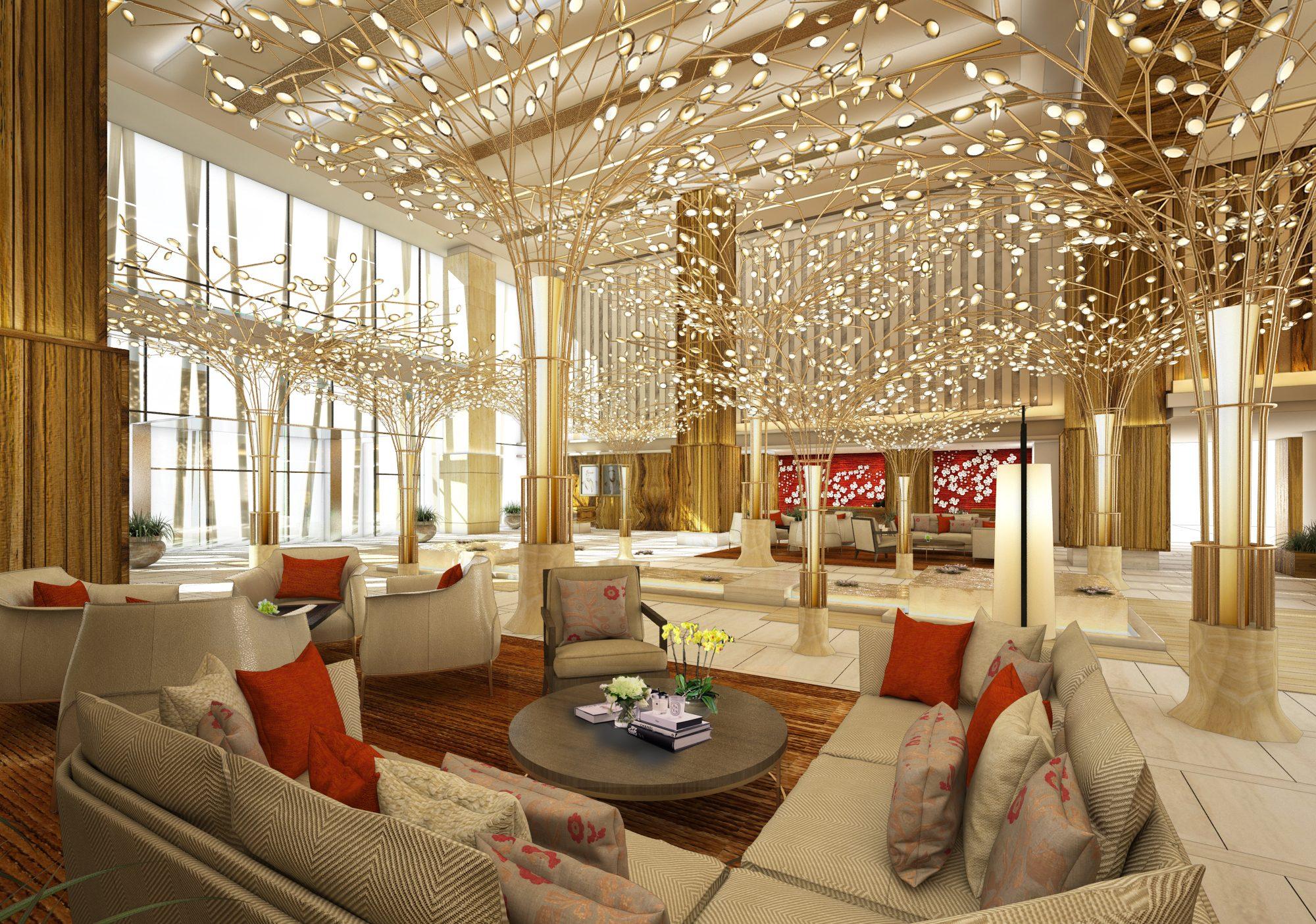 Mandarin Oriental Jumeira, Dubai lobby