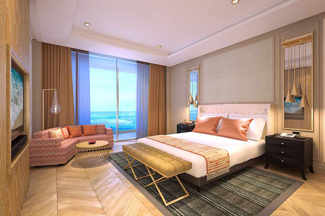 Mandarin Oriental Jumeira, Dubai suite