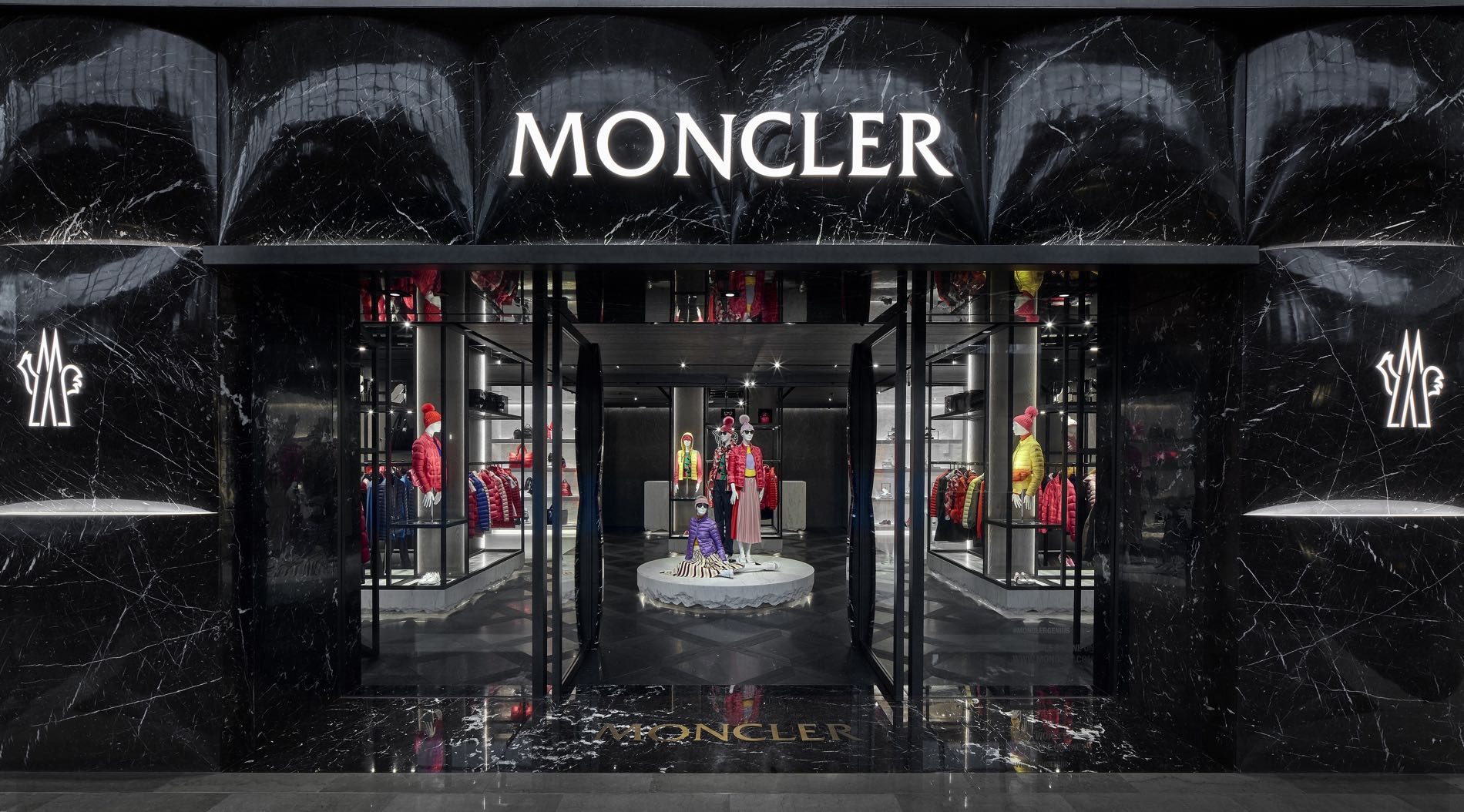 Moncler new store Singapore at Marina Bay Sands