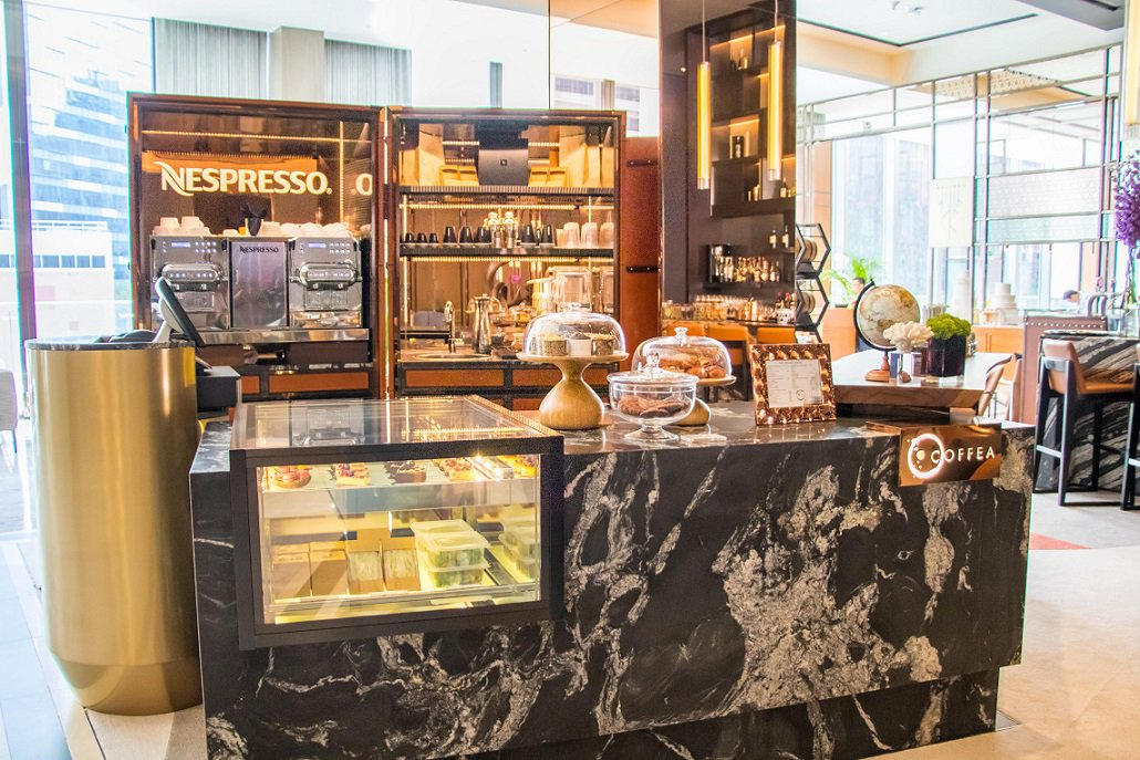 Nespresso's Coffea at Sofitel City Centre, Singapore