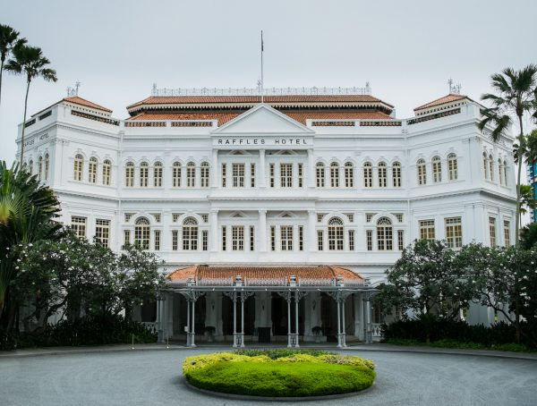 Raffles Hotel Singapore to open with butlers replacing front office and check-in the lobby