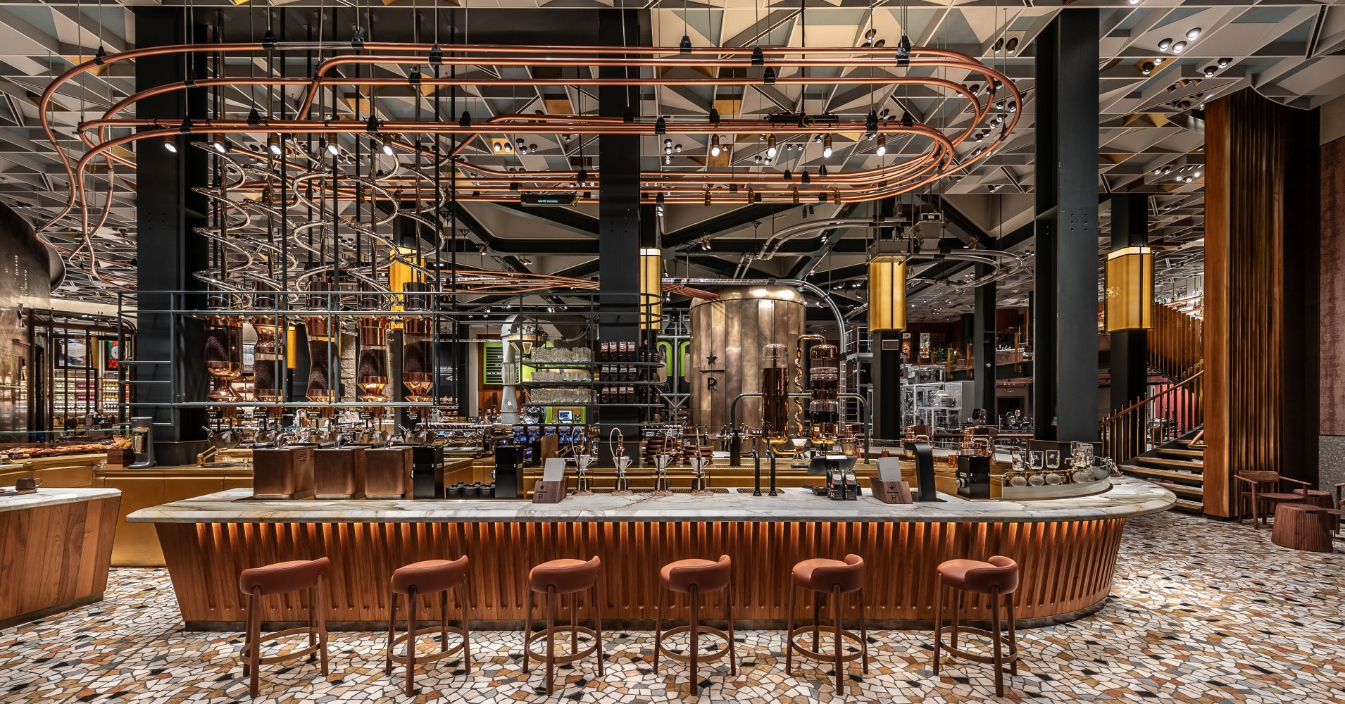 Starbucks Reserve Roastery in Milan,