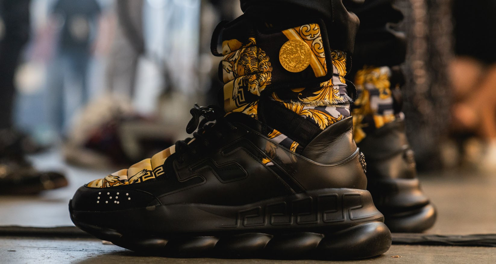 Versace collaboration with KITH
