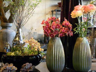 Celebrity floral artist Nicolai Bergmann creations (Four Seasons Pop-Down Hong Kong)
