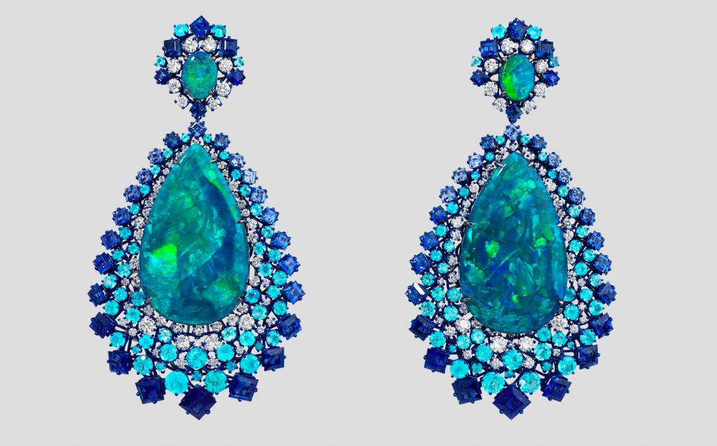 David Morris - Neptune earrings