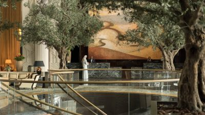 Four Seasons Bahrain Bay lobby