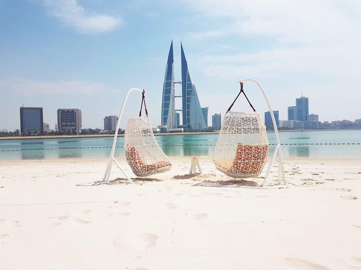 Four Seasons Bahrain Bay sandy beach