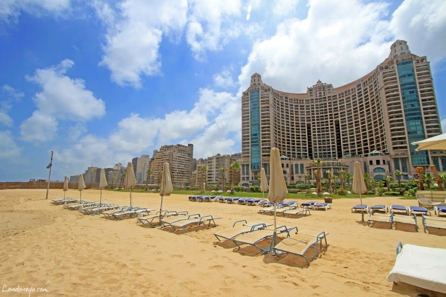 Four Seasons Hotel Alexandria @ San Stefano, beach