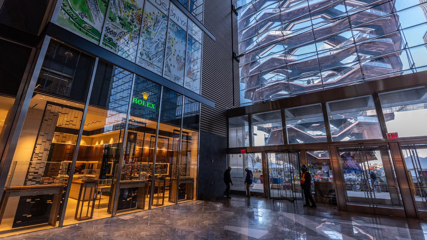 Rolex new store at Hudson Yards