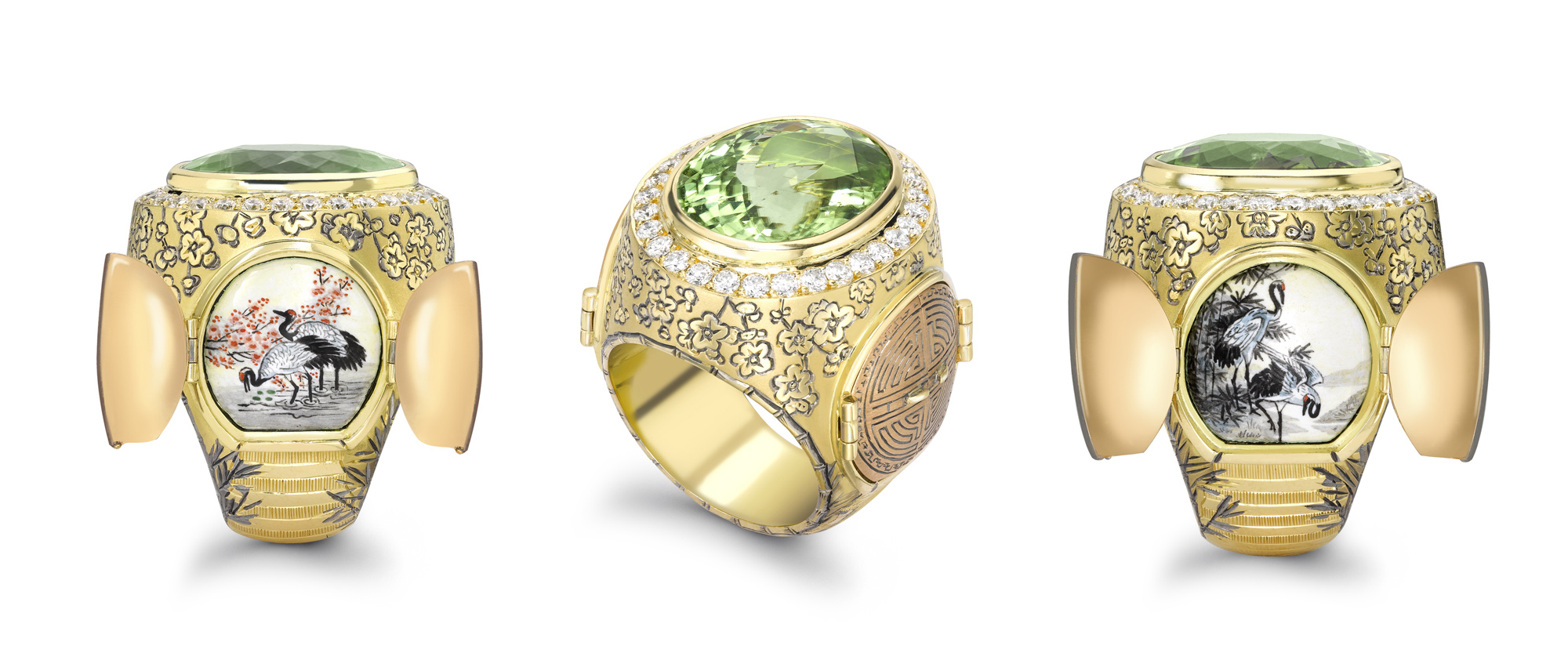 Theo Fennell's Chinese Secret garden Ring