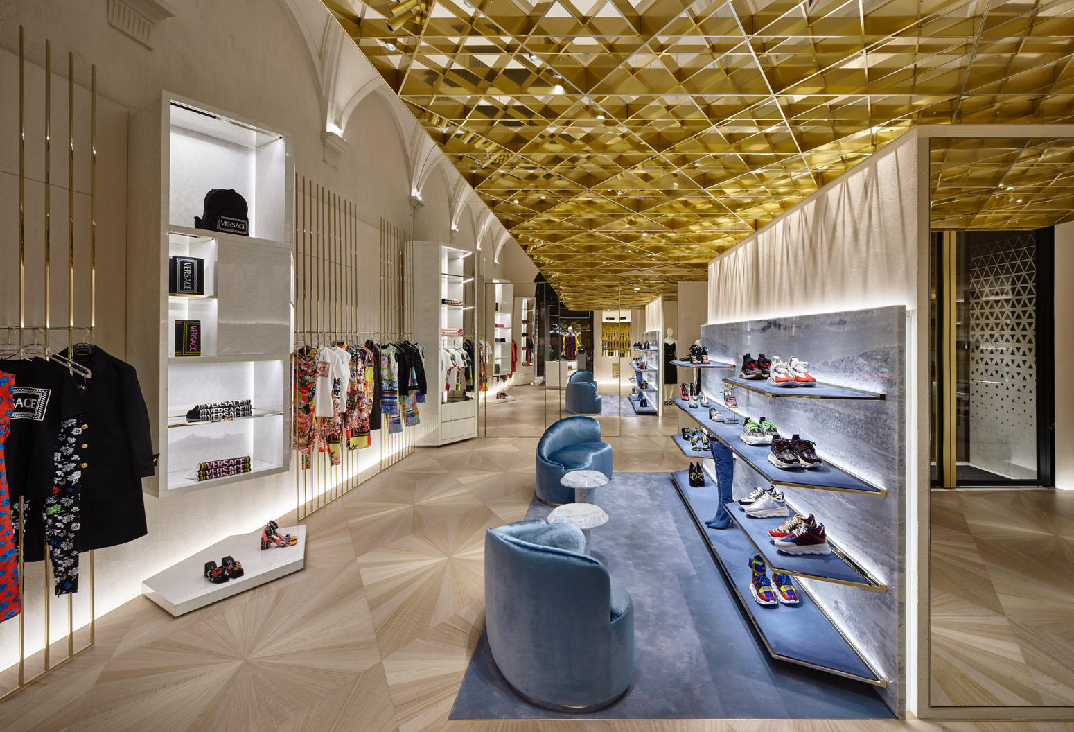 Versace new store concept in Florence