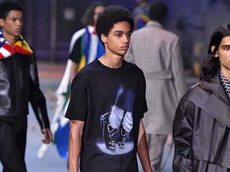 Virgil Abloh's Michael Jackson-inspired Louis Vuitton collection