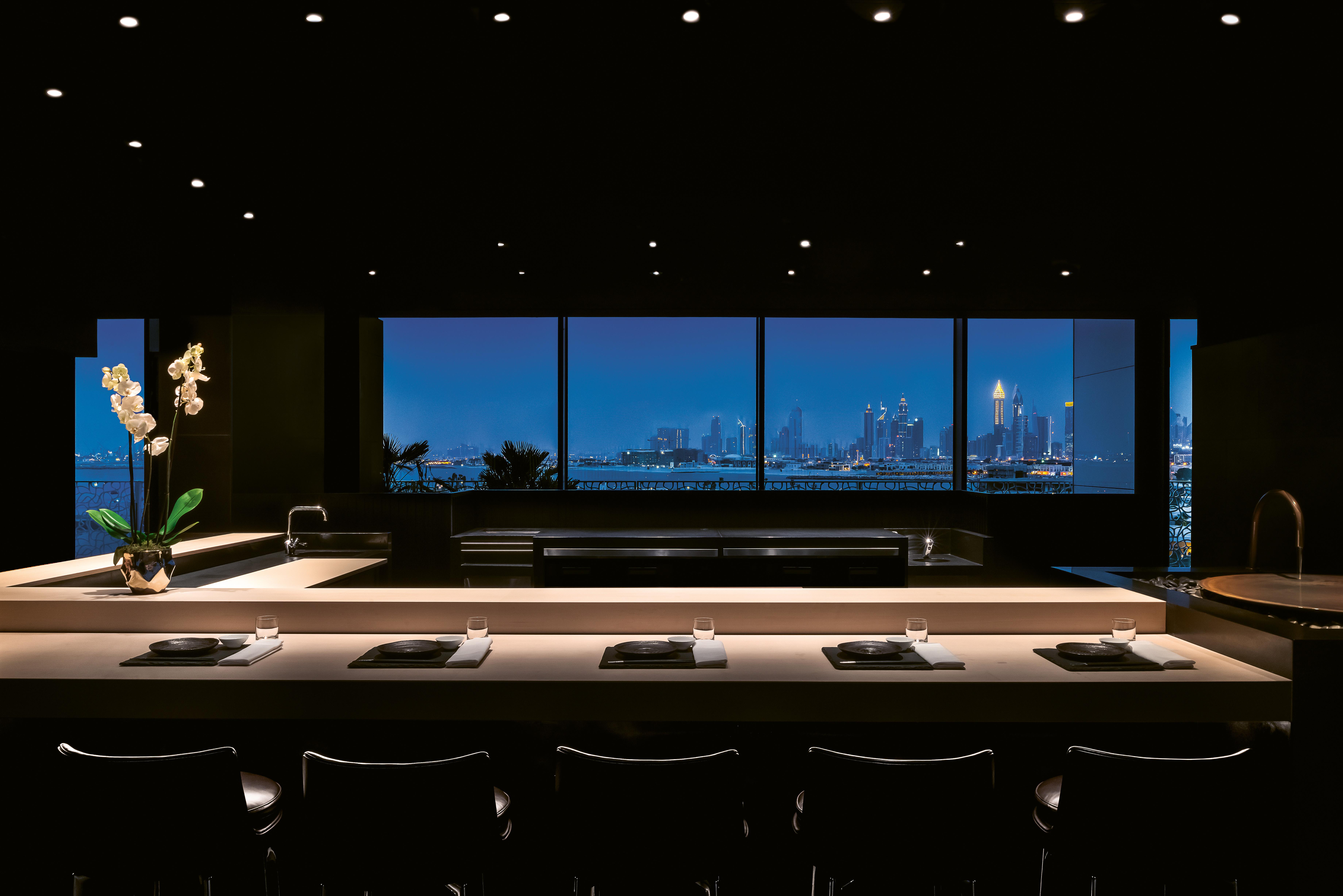 BVLGARI Resort Dubai - Hoseki Counter by Night