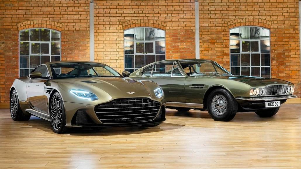 Aston Martin DBS Superleggera James Bond 50th anniversary